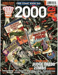 2000 AD Magazine, NM-, Judge Dredd, Zombo, FCBD, 2013, more items in store