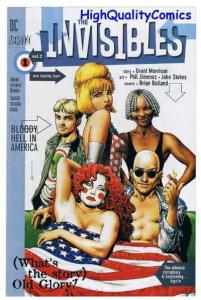 INVISIBLES, V2, NM, Morrison, Flyer, Promo,Vertigo,1996, more Promos in store