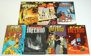 Stig's Inferno #1-7 VF/NM complete series - ty templeton - vortex comics set lot