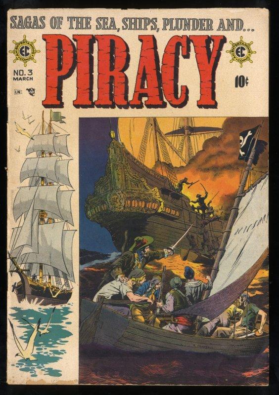 Piracy #3 VG 4.0