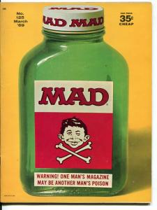 Mad-Magazine-#125-1969-Mort Drucker-Don Martin-David Berg