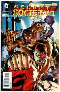 New 52 Justice League #23.4 Secret Society #1 (DC, 2013) VF/NM