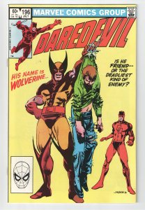 Daredevil #196 NM 9.2 1st appearance of Lord Dark Wind!!
