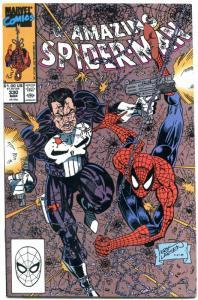 AMAZING SPIDER-MAN #330 1990- Punisher-ERIC LARSON Nm-