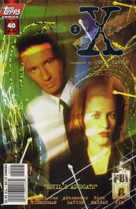 X-Files, The #40SC VF/NM; Topps | save on shipping - details inside