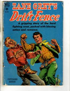 Four Color # 270 VG Dell Golden Age Comic Book Zane Grey Drift Fence JL18