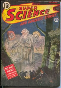 Super Science and Fantastic Stories 12/1944-Popular-Canadian-Leinster-Bliss-G/VG