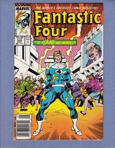Fantastic Four #302 VG/FN Marvel 1987