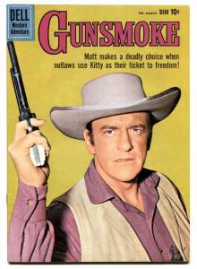 Gunsmoke #19 1960-Dell-James Arness TV photo- NM-