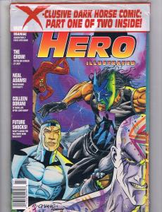 Hero Illustrated # 13 SEALED In Poly-Bag Magazine July 1994 Valiant Crow J62