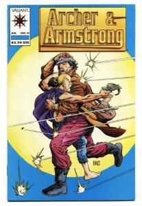 ARCHER AND ARMSTRONG #0-1st APPEARANCE-BOB LAYTON-VALIANT-PRE-UNITY