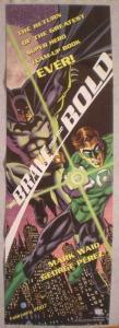 BRAVE AND THE BOLD Promo Poster, GREEN LANTERN, Unused, more in our store