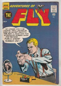Adventures of the Fly #7 (Jul-60) FN/VF Mid-High-Grade The Fly