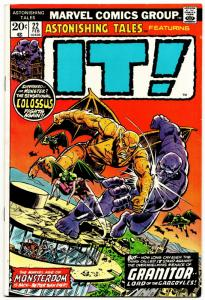Astonishing Tales Featuring IT! #22 (Marvel, 1974) VF-
