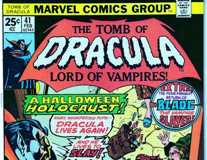 Tomb of Dracula(vol. 1) # 41  Fine condition