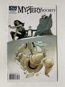 Mystery Society #3  - NM+ (2010)