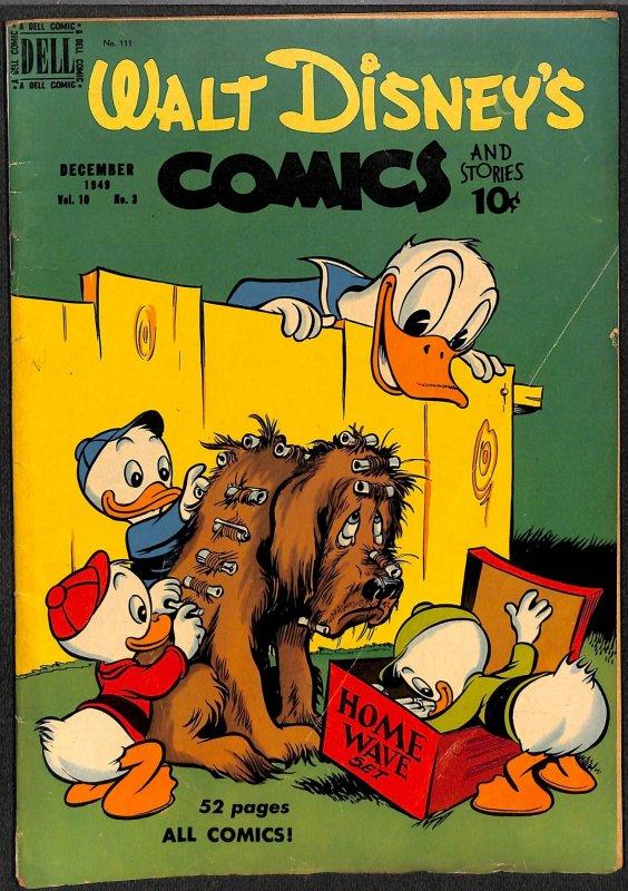 Walt Disney's Comics And Stories #111 VG+ 4.5