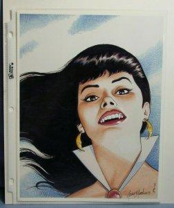 Artist GARY MARTIN AUTOGRAPHED 8.5 x 11 Print VAMPIRELLA Dynamite Comics L@@K!!