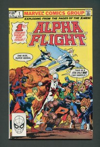 Alpha Flight #1  / 9.2 NM-   August  1983