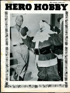 Hero Hobby #23 1970-Alan Ladd-Santa Claus-Hitler Disney WWII cartoons-VG