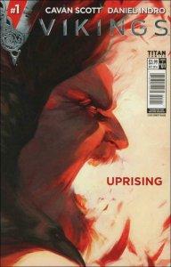 Vikings: Uprising #1D VF/NM; Titan | save on shipping - details inside