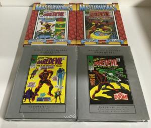 Daredevil Marvel Masterworks Volume 1 2 3 4 TPB Lot Nm Near Mint