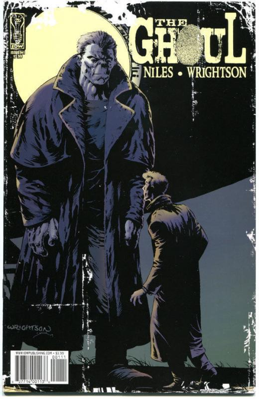 GHOUL #1 2 3, NM, Bernie Wrightson, Steve Niles, 2009, more Horror in store, IDW
