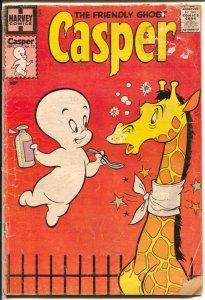 Casper The Friendly Ghost #13 1959-Charlton-giraffe-Wendy-Spooky-G