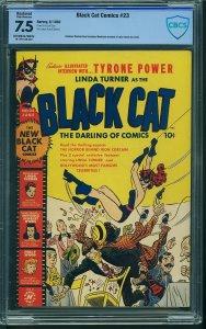 Black Cat Comics #23 (Harvey, 1950) CBCS 7.5