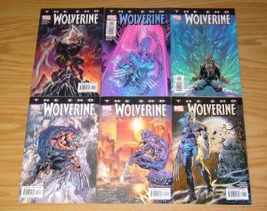 Wolverine: the End #1-6 VF/NM complete series - paul jenkins - marvel comics set