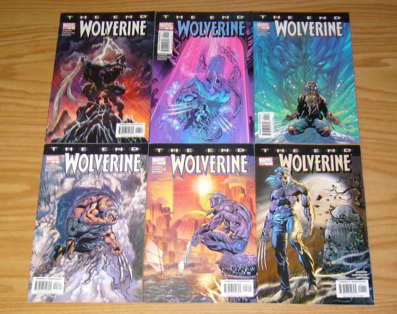 Wolverine: the End #1-6 VF/NM complete series - paul jenkins - marvel comics set