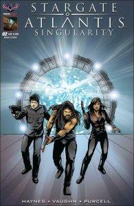 Stargate Atlantis: Singularity #2A VF/NM; American Mythology | save on shipping