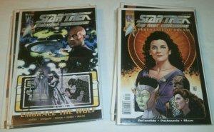 Star Trek TNG WildStorm set Killing Shadows #1-4 Perchance to Dream Gorn Crisis+