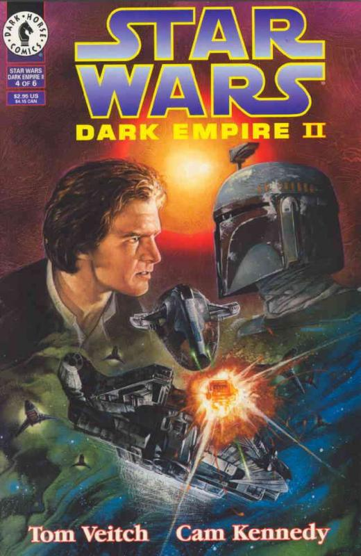 Star Wars: Dark Empire II #4 VF/NM; Dark Horse | combined shipping available - d