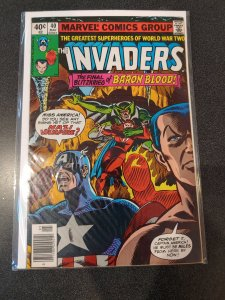 THE INVADERS #40 BRONZE AGE HIGH GRADE VF/NM
