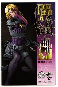 Executive Assistant Violet #1 Cvr B (Aspen, 2011) FN/VF