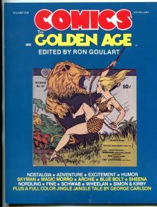 The Comics the Golden Age Fanzine #1 1984- Skyman- Flame