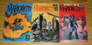 the Marionette #1-3 VF/NM complete series - alpha productions - comics set lot 2