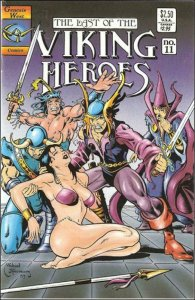VIKING HEROES #11, VF/NM, Monster, Mike Thibodeaux,1987 1992, more indies in our