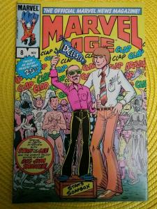 Marvel Age #8 (1983) Stan Lee cover and interview (Key App)