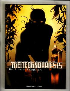 The Technopriests Vol #2: Rebellion Humanoids TPB Graphic Novel Comic Book CE4