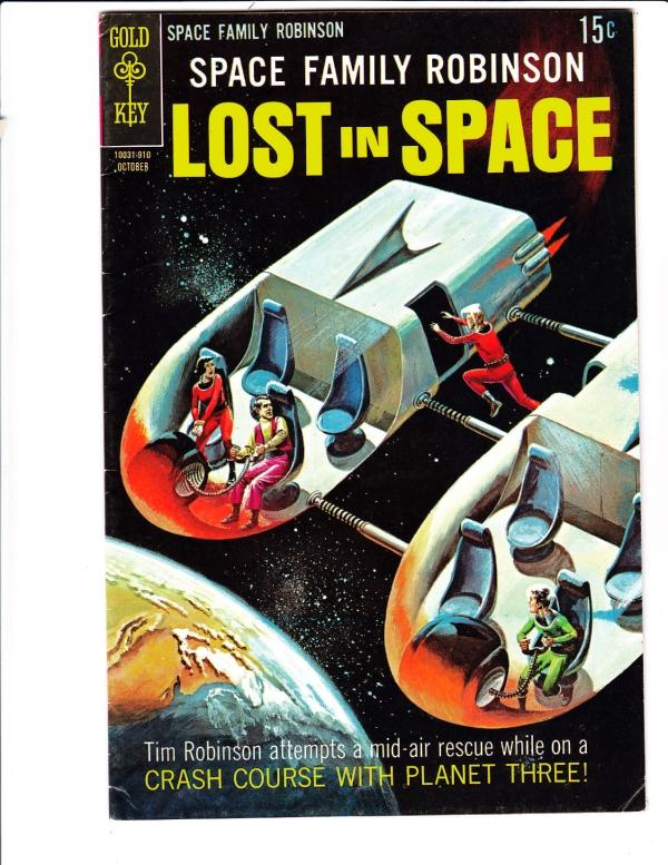 Space Family Robinson, Lost in Space ON PAD, BOUGHT BACK #36 (Oct-69) VF High...