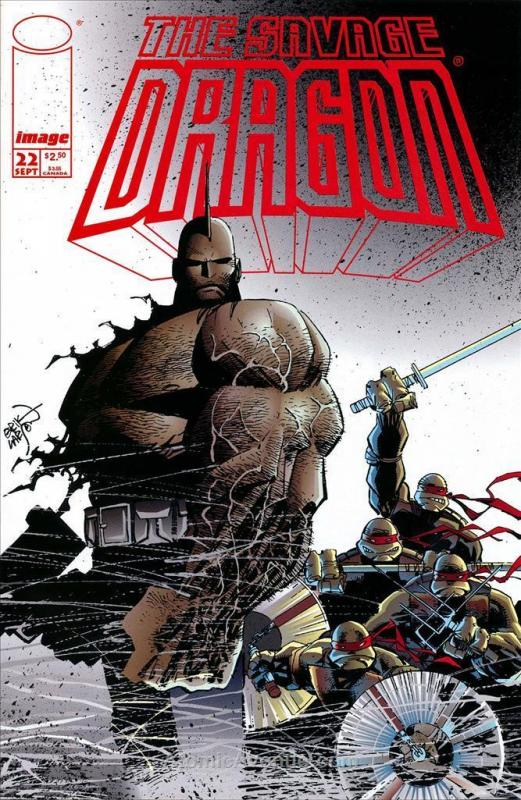 Savage Dragon, The #22 VF/NM; Image | save on shipping - details inside