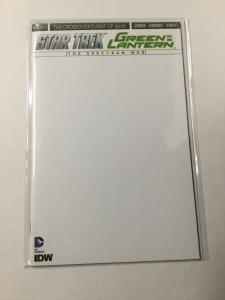 Star Trek Green Lantern The Spectrum War 1 Nm Near Mint Blank Variant DC Comics
