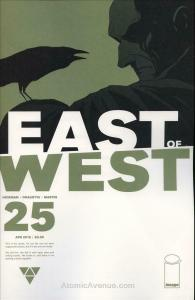East of West #25A VF/NM; Image | save on shipping - details inside