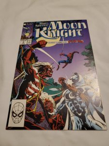 Marc Spector Moon Knight 2 Very Fine/Near Mint  Art by Sal Velluto & Mark Farmer