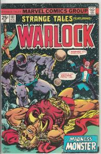 Strange Tales #181 (Aug-75) NM- High-Grade Adam Warlock