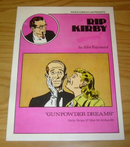Rip Kirby #14 VF pacific comics club - alex raymond - gunpowder dreams - 1980