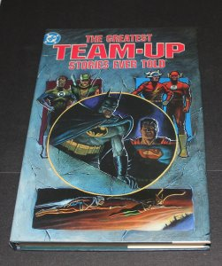 DC Greatest Team-Up Stories Ever Told / Hardcover / NM-MT  1st Print  1989