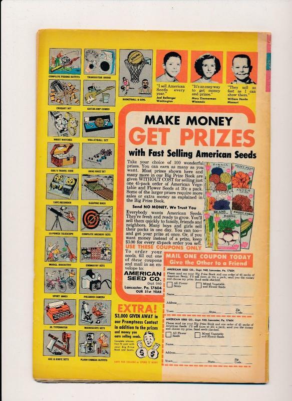 GOLD KEY Comics The Road Runner #11 VG 1969 15c (B21)